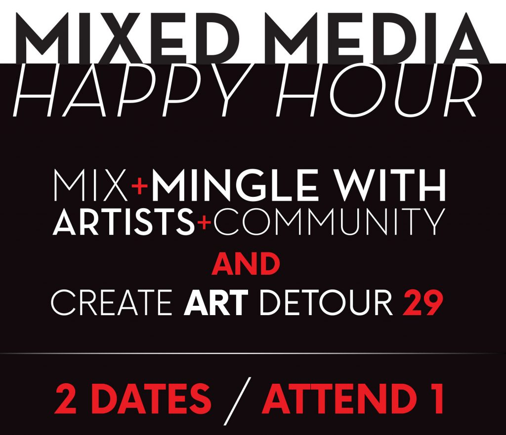 Mixed Media Flyer January dates